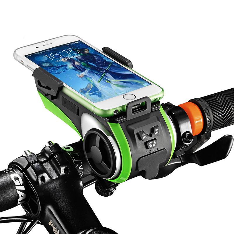 rockbros de múltiples funciones de la bici sostenedor del teléfono de luz de bicicletas accesorios de bicicleta cargador