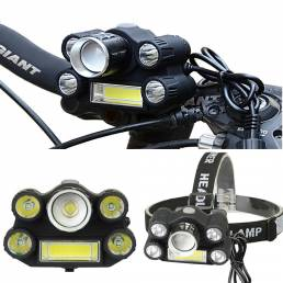 XANES ML03 2800LM LED Luz de bicicleta al aire libre Faro de ciclismo para scooter Moto