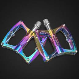 ROCKBROS LX-K340 1 par de pedales de bicicleta CNC de aleación de aluminio con rodamiento sellado Pedales de bicicleta a