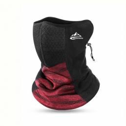 GOLOVEJOY al aire libre protector facial para mantener caliente el almacenamiento de calor deporte ciclismo cara Mascara