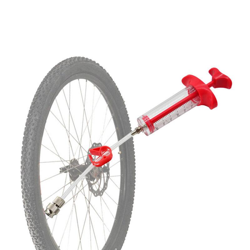 Sellador de bicicleta BIKIGHT llenado de neumáticos sin cámara herramienta inyector de sellador de neumáticos para bicic