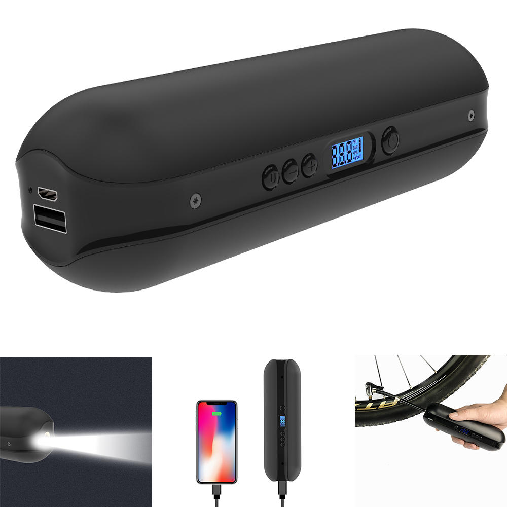 CYCPLUSA2150PSIControldeprecisión negro LCD Pantalla 2000mAh Power Bank LED Linterna de em