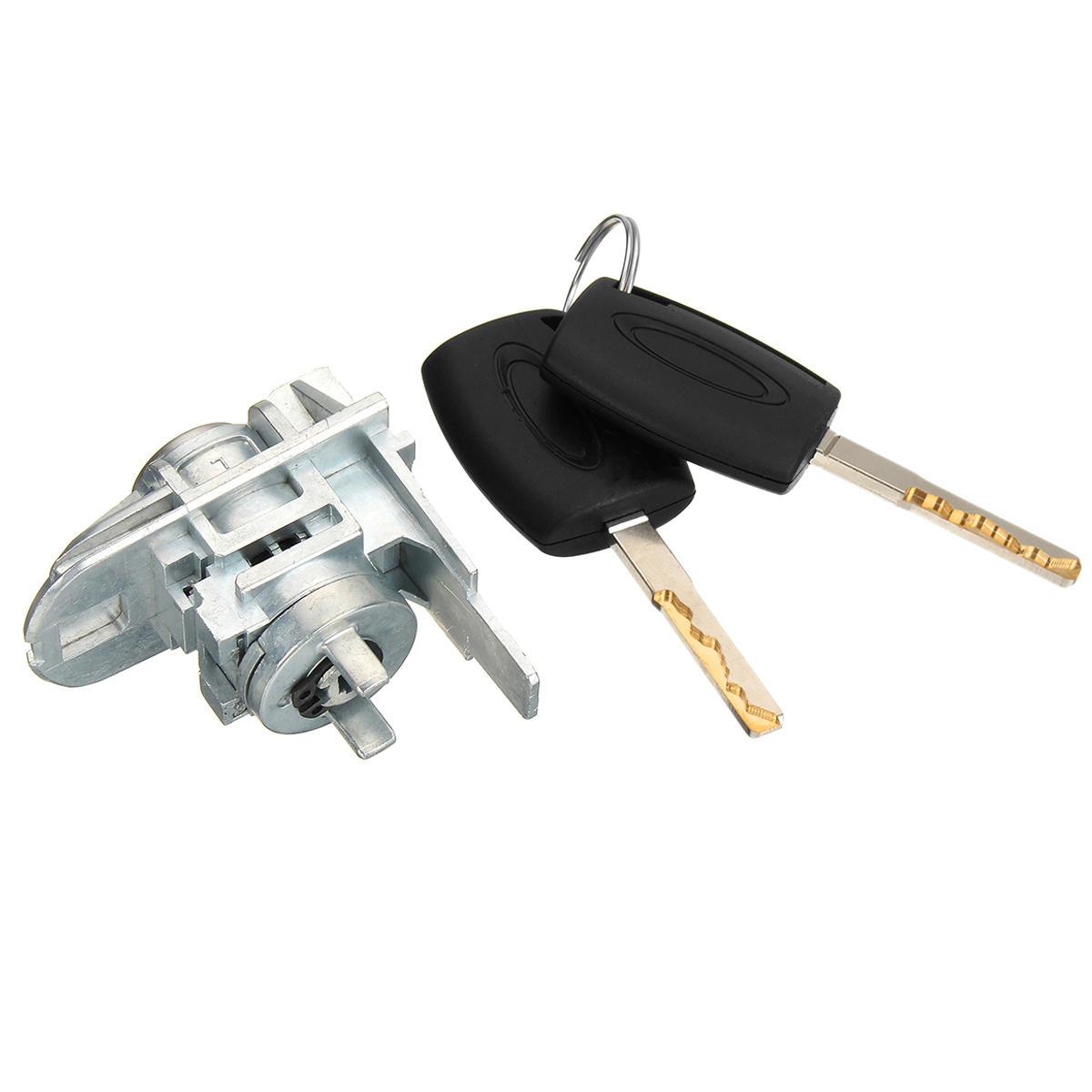 Coche Reemplazo de la puerta delantera cerradura con llave 2 para Ford Focus C-Max S-Max 1552849