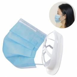 BIKIGHT 5PCS Mascara Marco de soporte interior Soporte 3D Más espacio para respirar Boca lavable Mascara Soporte Cara Ma