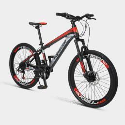 [De Xiaomi Youpin] PARA SIEMPRE P10 22/24 pulgadas 24 velocidades Youth Bicicleta de montaña Freno de disco doble Absorc