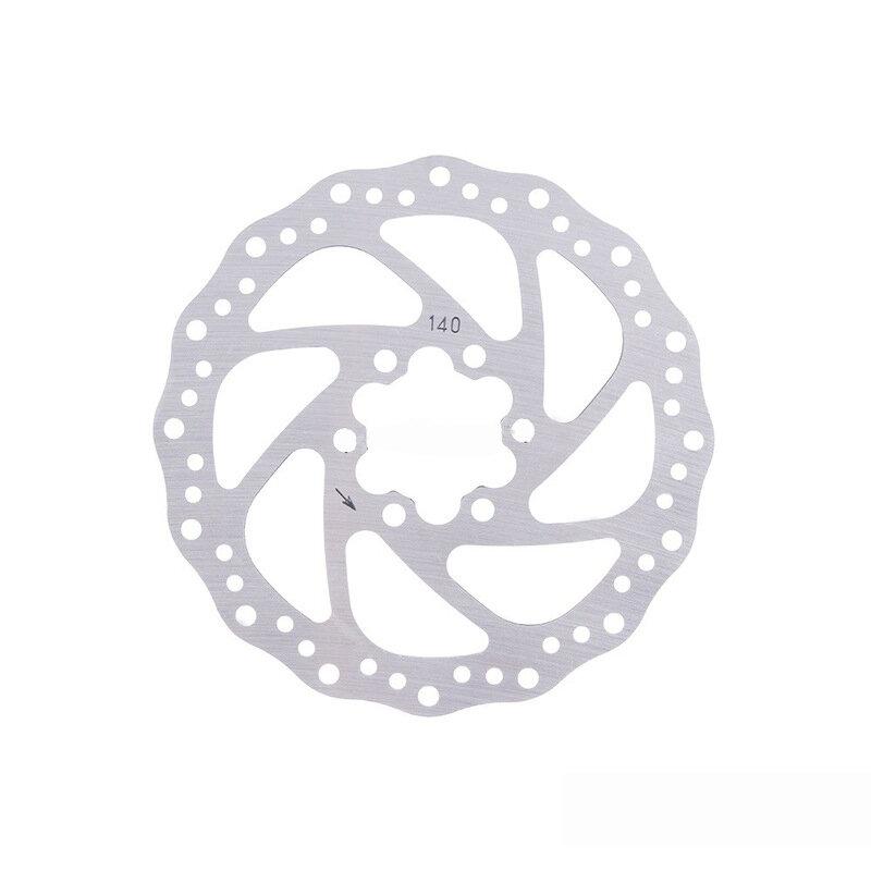 Freno de disco de bicicleta eléctrica de 140 mm y 6 agujeros para scooter de bicicleta universal LAOTIE con tornillos pa