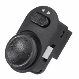 Regulador del interruptor del botón de Control del interruptor del espejo retrovisor Coche de 8 pines para Opel / Vauxha