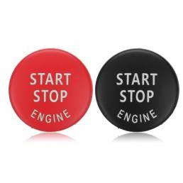 Car Start Stop Motor Interruptor de botón Rojo Negro Cubierta para BMW X5 E70 X6 E71 3 E90 E91 E92 E93