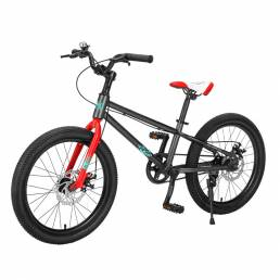 Montasen M204 18/20 pulgadas chico bicicleta de montaña frenos de disco doble bicicleta carga máxima 80 kg al aire libre