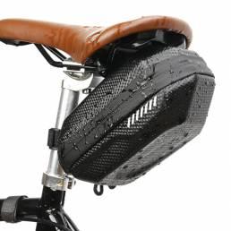 B-soul 20x10x9cm Impermeable Bicicleta Bolsa Alforjas para bicicleta Asiento Trasero Almacenamiento Bolsa al aire libre