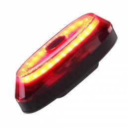 ANTUSI A1 Bicicleta Bicicleta Inteligente Bicicleta trasera Cola Luz Impermeable Luz Sensor USB C Recargable