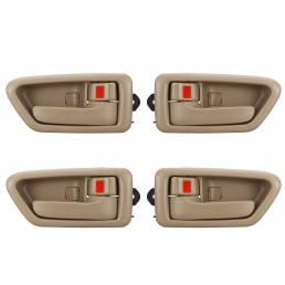 4PCS Coche Manija de puerta para Toyota Camry 1997-2001 Interior izquierdo y derecho
