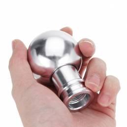 Forma universal de la bola del botón del cambio de marcha de la aleación de aluminio Coche de la velocidad 6