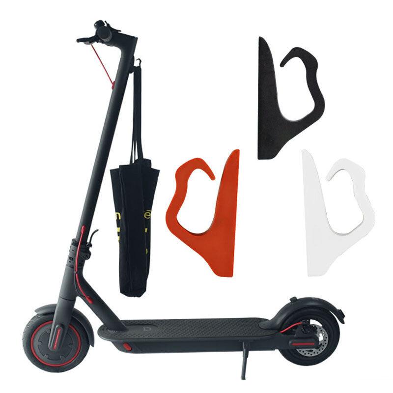 BIKIGHT Scooter eléctrico delantero Gancho Percha Casco Bolsa Almacenamiento de garras Gancho Gadget Accesorios para sco