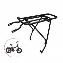 E-bike Carga Rack trasero de bicicleta ajustable Equipaje Portaequipajes para bicicleta de carretera de montaña Portaequ