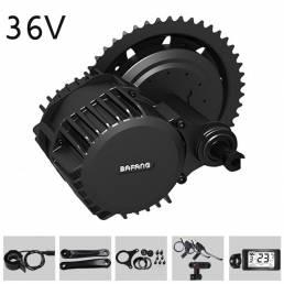 BAFANG G340 36V 250W / 350W / 500W bicicleta eléctrica modificada Mid-drive motor Kits de conversión de bicicleta eléctr