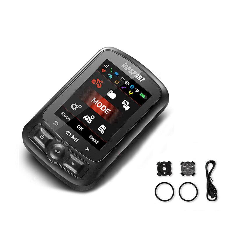 IGPSPORT IGS620 Ordenador de bicicleta Notificación inalámbrica Teléfono Velocímetro ANT + bluetooth 4.0 WIFI GPS 2.2 pu