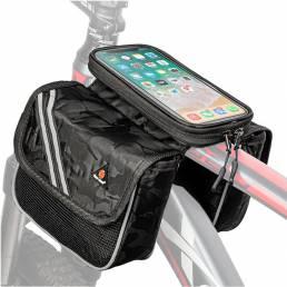 Bicicleta a prueba de lluvia WEST BIKING Bolsa Pantalla táctil Teléfono de 6