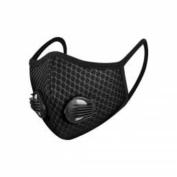 Cara transpirable 3D Mascara Carbón activado reutilizable Mascara Protector de ciclismo a prueba de viento a prueba de p