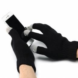 Winter Warmer Pantalla Táctil Guantes de Bicicleta USB Calentamiento Eléctrico Calentado Guantes Lavables