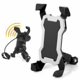 BIKIGHT Soporte universal para teléfono móvil para scooter