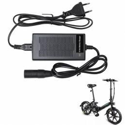 FIIDO D3/D3S 42V 2A Bicicleta eléctrica plegable Batería Cargador Bicicleta eléctrica portátil Bicicleta Scooter Cargado