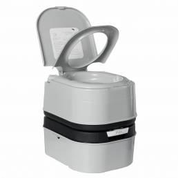 24L al aire libre Inodoro portátil cámping Bomba de pistón para baño Caravana de viaje