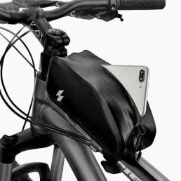 SAHOO1L420DNylon100%Impermeable Bicicleta Bolsa Bicicleta MTB Mountain Road Bike Tube Tube Frame superior Bolsa
