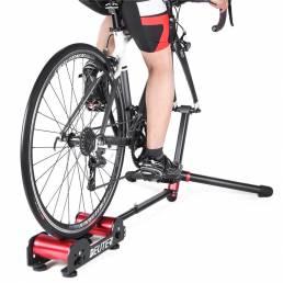 DETER Bike Rodillo Entrenador Portátil Interior Inicio Ejercicio Ejercicio Bicicleta Entrenamiento Ciclismo Entrenador e