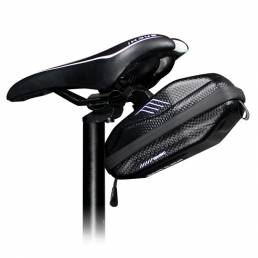 WILD MAN Impermeable EVA Hard Shell Bike Bolsa Sillín de bicicleta debajo del asiento Bolsa Ciclismo Pocket Road MTB Acc
