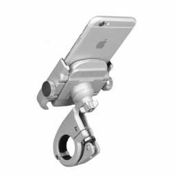 Soporte para teléfono BIKIGHT GPS Soporte de montaje para manillar Moto Bicicleta Ciclismo para iphone