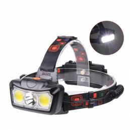 XANES® LED HeadLamp Impermeable al aire libre Corriendo cámping Bicicletas Ciclismo 18650 Bicicleta Moto