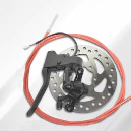 Scooters eléctricos Juego de frenos Disco de freno + Línea de freno + Manijas de freno Accesorios de freno de scooter pa