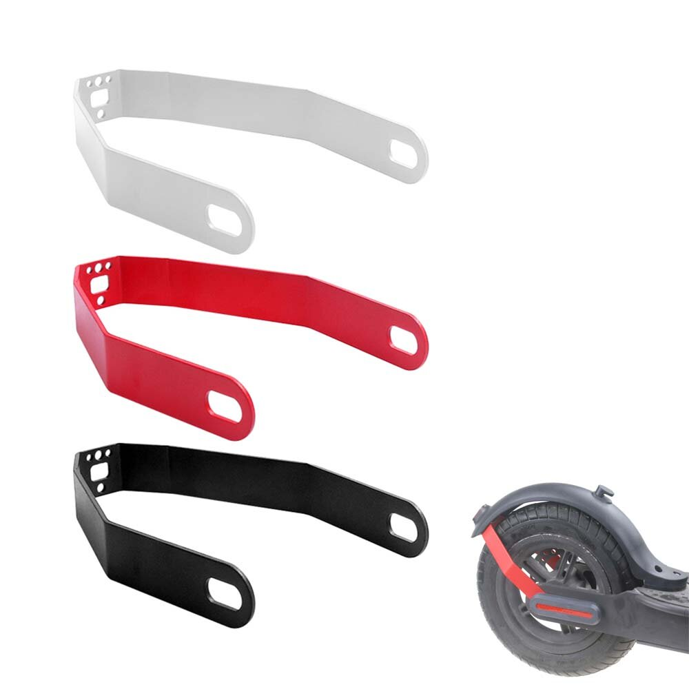Soporte de guardabarros trasero para scooter eléctrico BIKIGHT para scooter M365/Pro/Pro2/1S Essential de 10 pulgadas