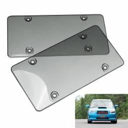 Tinted Clear Smoke License Placa Tapa de cuadro Cubierta Shield Coche Camión
