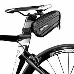 WILD MAN Bicicleta Bolsa Bicicleta resistente al desgaste Sillín reflectante Trasero herramienta Bolsa MTB Bicicleta Asi