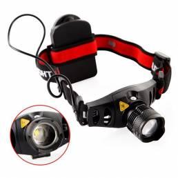 Q5 LED Luz de faro Zoom Zoomable Faro de faro antorcha