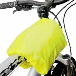 Carrera de montaña bolsa de paquete de asiento de bicicleta silla maleta trasera cubierta para la lluvia